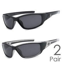 2 Pair Combo Polarized Nitrogen Sunglasses Sport Fishing Golfing Driving Glasses