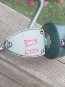 Vintage Heddon 210-R Spinning Reel. Works, Nice!