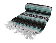 #11 New 6 Pack Mexican Falsa Throw Blankets Yoga Mexico Serapes Assorted Mix Buy