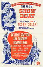 SHOWBOAT Movie POSTER 27x40 Kathryn Grayson Ava Gardner Howard Keel Joe E. Brown