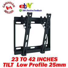 "23-42"" LCD PLASMA LED TV TILT WALL MOUNT BRACKET SLIM 26 30 32 34 36 37 39 40 41"