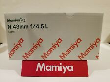 Mamiya 7 II LENS *** EMPTY BOX *** (PICK 1---43mm, 50mm, 65mm, 210mm LENSES)
