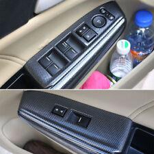 For Honda Accord 08-12 Carbon Fiber Style Armrest Window Lift Switch Panel Trim