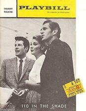"Lesley Ann Warren ""110 IN THE SHADE"" Robert Horton 1963 Tryout Playbill / Ticket"