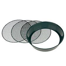 Erdsieb Garten Metall  37cm 3 Maschen grob fein für Stein Sand Hand Kompost Sieb