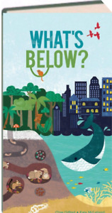 What's Below? by Clive Gifford (Hardcover) FREE shipping $35