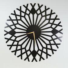 Abstract Modern Metal Wall Clock,Open Face Wall Clock,Large Metal Clock For Wall