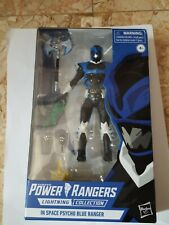 Hasbro Power Rangers Lightning Collection Space Psycho Blue Ranger action figure