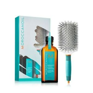 Morroccanoil Original Treatment with hair brush and free shampoo and conditioner