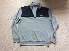 Oscar Jacobson golf top windproof black grey large faultless condition