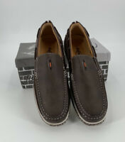 Frenchic Mens Slip On Loafers Shoes Black Size 11 M