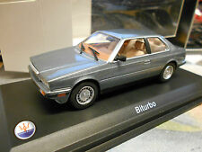 MASERATI Biturbo Coupe grau met grey 1981 - 1994 IXO White Box 1:43