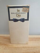 Vintage / Balenciaga ... le Dix / eau de toilette / 4 FL OZ / very rare