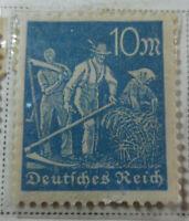Germany 1922-23 Stamp 10 Mark MNH Stamp Rare Antique Excellent StampBook1-137