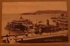 Postcard Unposted Devon, Plymouth The Pier 43942