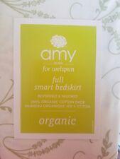New Amy Butler Dream Modena Green Full Bed Skirt