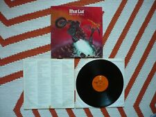 Meat Loaf Bat Out Of Hell Vinyl US 1977 Epic / Cleveland 4F/3J Early Press LP