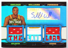 Topps Triple Threads Auto Shelden Williams Patch #1/3