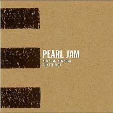 Pearl Jam Live Official Bootleg #66 New York NY 07/08/2003 Madison Square Garden