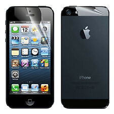 Matte Frosted Anti-Fingerprint Front & Back Screen Protector For Apple iPhone 5