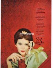 1959 Charles Of The Ritz PLUSH Face Powder art VTG PRINT AD