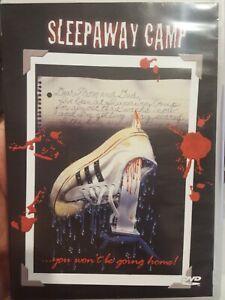 SLEEPAWAY CAMP RARE DVD HORROR FILM MIKE KELLIN & KATHERINE KAMHI CULT MOVIE R1