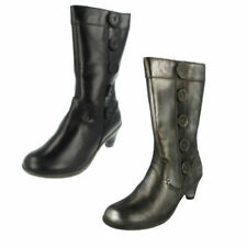 3a35e4eade8 Steve Madden High Heel (3-4.5 in) Leather Upper Material Boots for ...