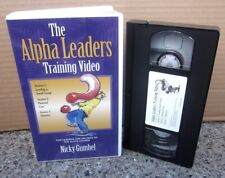 ALPHA LEADERS Training Video VHS Nicky Gumbel ministry Leading A Small Group