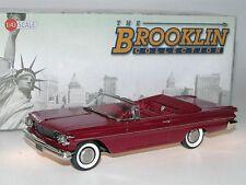 Brooklin BRK 205 - 1960 Pontiac Catalina Convertible - Coronado Red - 1/43