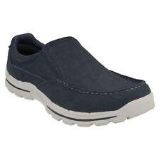 Zapatos informales de hombre Skechers color principal azul
