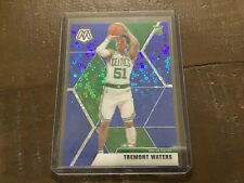 2019-20 Mosaic Tremont Waters blue disco RC /85 + 9 more RC's Tacko Fall Celtics