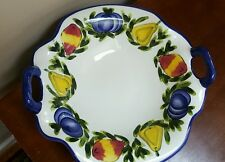 """STYLE-EYES By BAUM BROS Large FRUIT Centerpiece Serving BOWL 13.5"""""""