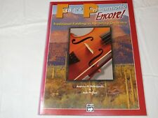 Fiddler's Philharmonic Encore Viola Traditional Fiddling String Orchestra Book