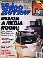 ORIGINAL Vintage March 1991 Video Review Magazine Design a Video Room