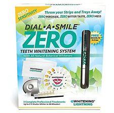 ZERO White Teeth Whitening System - ZERO Peroxide