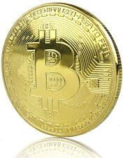 Bitcoin Coin Münze Miner Medaille Sammelmünze  BTC,  schneller Versand aus DE