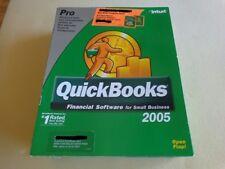 Brand New: QuickBooks Pro 2005 Full Version for Windows (Old Version)