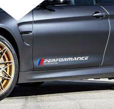BMW M Performance Side car 2x Sticker Limited Edition Car-Styling White