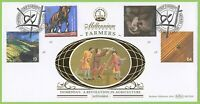 G.B. 1999 Farmer's Tale set on Benham Official First Day Cover, Strip Farming