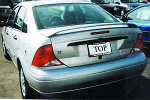 UNPAINTED FORD FOCUS 4-DOOR SEDAN FACTORY STYLE SPOILER 2000-2004