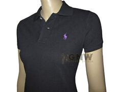 Ralph Lauren Hip Length Cotton No Pattern T-Shirts for Women