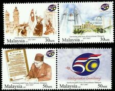 Golden Jubilee Celebration Of Independence Malaysia 2007 Father (stamp) MNH