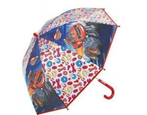 Nickelodeon Blaze and The Monster Machines Red & Blue Pinch Proof Umbrella