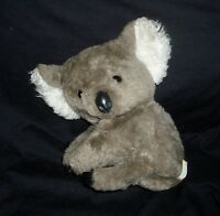 "12"" VINTAGE 1977 GUND GRAY KOALA TEDDY BEAR STUFFED ANIMAL PLUSH TOY ANTIQUE"