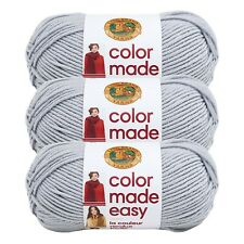 Lion Brand Yarn 195-149 Color Made Easy Yarn, Shade (Pack of 3 Skeins)