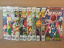 Avengers Lot Of 10 #160-169
