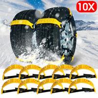 Catene neve per pneumatici auto camion. Fasce universali da 175 a 275mm  /
