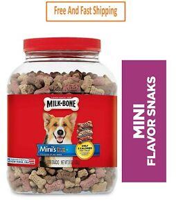 Milk-Bone Mini's Flavor Snacks Dog Biscuits, 36 Oz