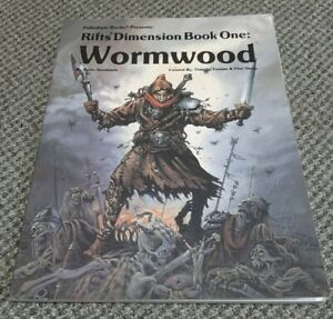 Rifts Dimension Book One Wormwood - Palladium Books 809