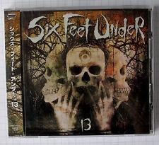 SIX FEET UNDER - 13 JAPAN CD OBI MBCY-1034